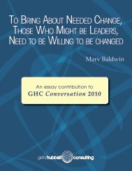 To Bring ABouT needed ChAnge, Those Who MighT Be LeAders ...