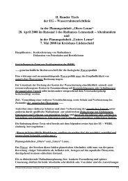 II. Runder Tisch der EG - PLETTENBERGER MAIPIERE Sportfischer ...