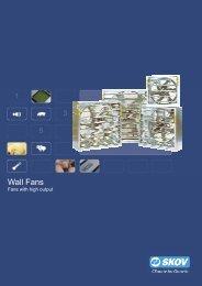 Wall fans - Skov A/S