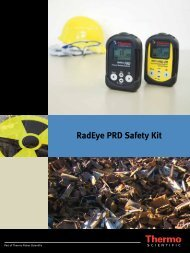 RadEye PRD Safety Kit - Envinet a.s.
