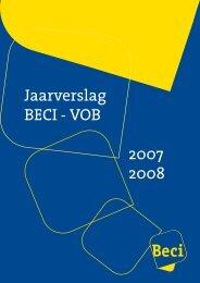 Jaarverslag BECI - VOB 2007 2008