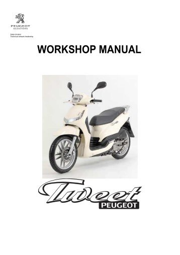 1 2 inspection precautions scootergrisen rh yumpu com Piaggio Fly Review 2014 Piaggio Fly 150 Review