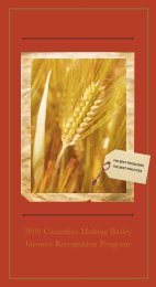 grower recognition program - Brewing And Malting Barley Research ...