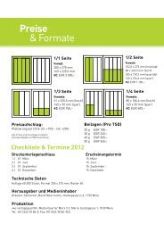 Preise & Formate