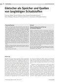Gletscher als Speicher und Quellen von langlebigen ... - Eawag - Seite 2