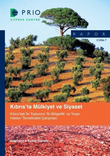 Kıbrıs'ta Mülkiyet ve Siyaset - PRIO