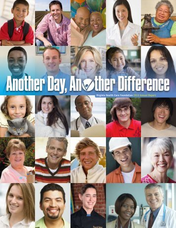 Another Day, An ther Difference - Virginia Health Care Foundation