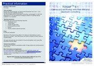 Practical information TOGAF 9 - Devoteam