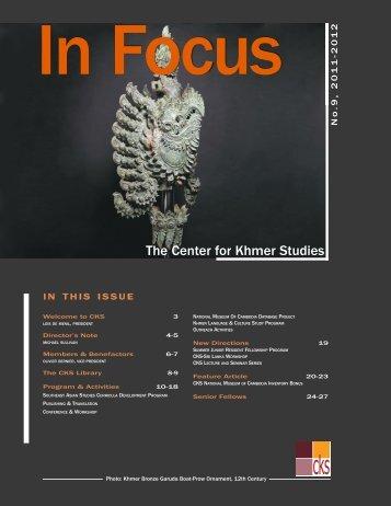 2011-2012 - Center for Khmer Studies