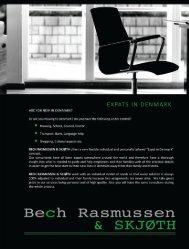 EXPATS IN DENMARK - Bech Rasmussen & Skjøth