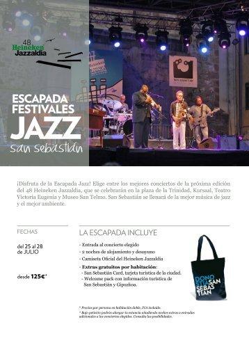 Escapada festivales: Jazz San Sebastián