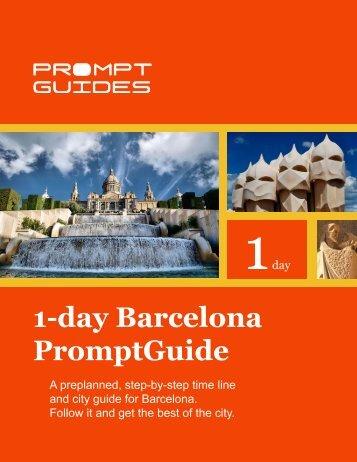 1-day Barcelona PromptGuide - Prompt Guides