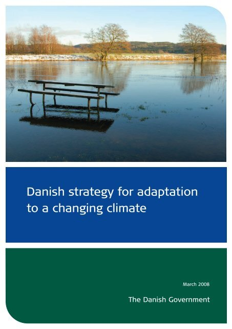 Danish strategy for adaptation to a changing climate
