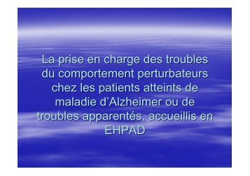 Bonnes pratiques de prescription des ... - ARS Limousin