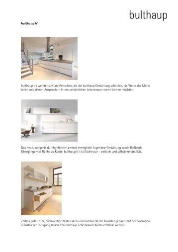 bulthaup magazine. Black Bedroom Furniture Sets. Home Design Ideas
