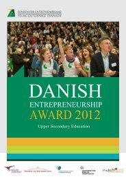 Jury Feedback - Danish Entrepreneurship Award 2012
