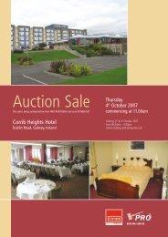 Auction Sale - Hotel Designs