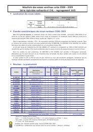 Résultats des essais variétaux colza 2008 – 2009 Série ... - Cetiom