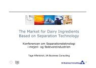 (Microsoft Powerpoint - Final edition - The Market for Dairy ...