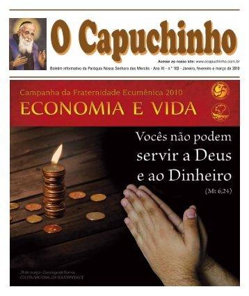 """Jornal """"O Capuchinho"""" - fevereiro e março de 2010 - Paróquia ..."""