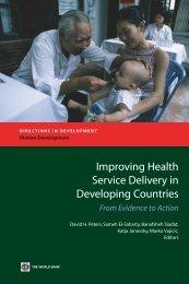 Improving Health Service Delivery in Developing ... - Enreca Health