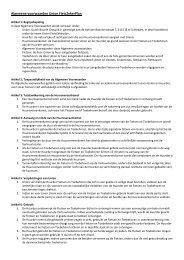 Algemene voorwaarden Union FietsZekerPlan - VVV Eindhoven