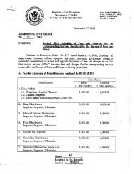 Administrative Order No. 50 s. 2001