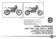 DUAL PURPOSE wre 125 - sm 125 s / 2005 - Husqvarna