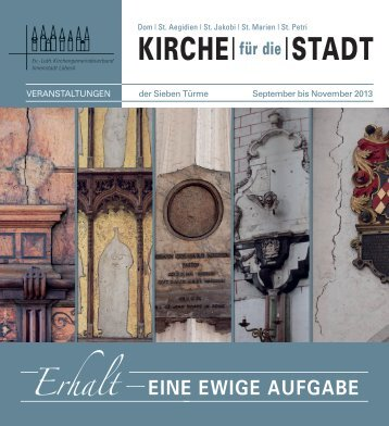 KIRCHE| |STADT - innenstadtkirchen-luebeck.de