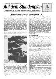 Bromberger Blutsonntag - Unglaublichkeiten.com