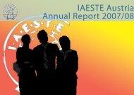 IAESTE Austria Annual Report 2007/08