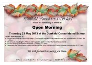 Issue 8 16 May 2013 Dunkeld Consolidated School and Community ...