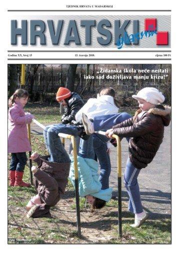 15. broj 15. travnja 2010.