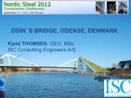 statical system – closed bridge - Nordic Steel Construction ...