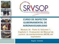 curso de inspector gubernamental de aeronavegabilidad - ICAO