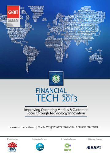 Financial Tech - CeBIT Australia