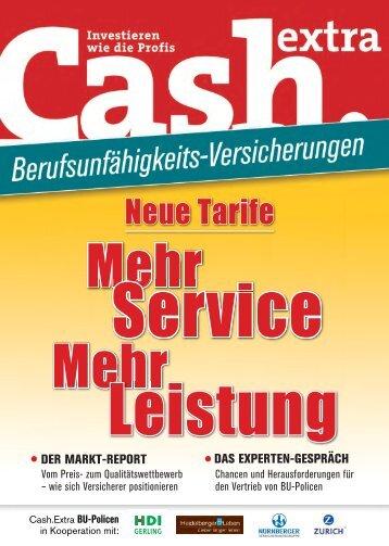 Extra downloaden - Cash.