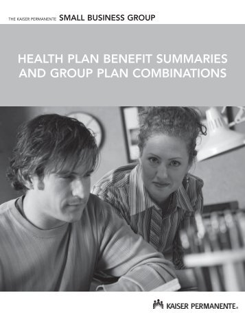 hEALth PLAN BENEfIt SUMMARIES ANd GROUP PLAN ...