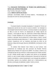 educação profissional do técnico em agropecuária novas leis ...