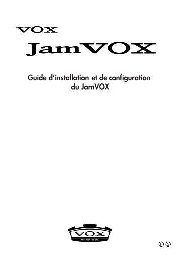 Guide d'installation et de configuration du ... - KORG USER NET