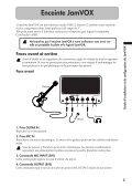Guide d'installation et de configuration du ... - KORG USER NET - Page 5