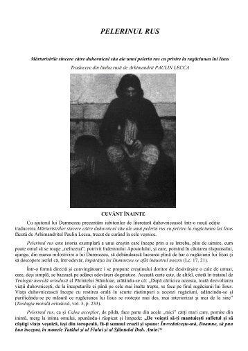 PELERINUL RUS - Prietenii Sfântului Munte Athos