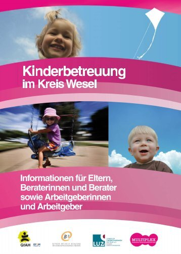 Kinderbetreuung im Kreis Wesel - LUZi