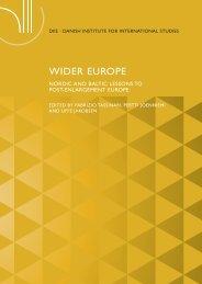 WIDER EUROPE - DIIS