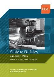 Guide to EU Rules on drivers hours (3MB) - RSA.ie