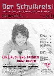 1Inhalt 4/03 pdf - Schulkreis