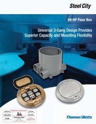 68-HP Floor Box