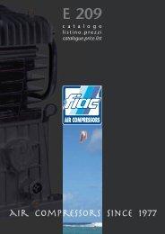 Belt driven air compressors - nord utensil srl
