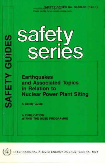 Safety_Series_050-SG-S1_1991 - gnssn - International Atomic ...