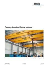 Demag Standard Crane manual - Kristian Electric Ltd